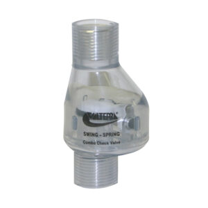 """1/2"""" Swing/Spring Check Valve FPT x FPT 1/2 lb Tension"""