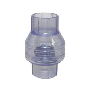 "1-1/2"" Swing Check Valve Slip x Slip Clear (Import Version)"