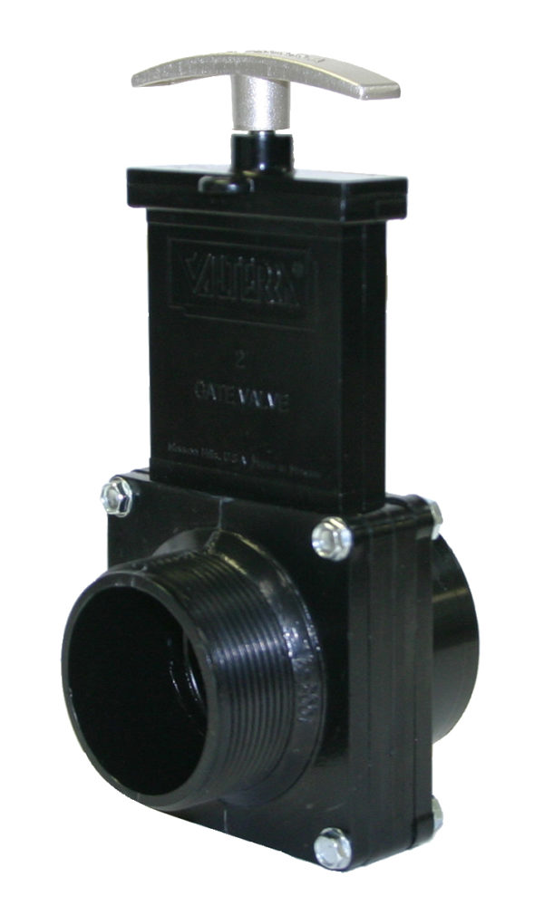"""2"""" Valve FPT x MPT, Plastic Paddle & Metal Handle, ABS"""