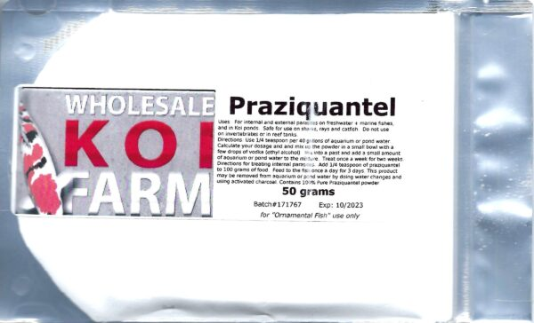 Wholesale Koi Farm Praziquantel package